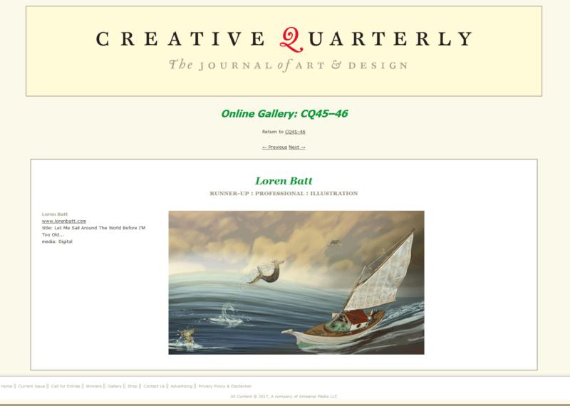 Creative Quarterly The Journal of Art and Design - batt-loren