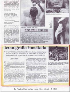 Article La Nacion, March 13, 1995