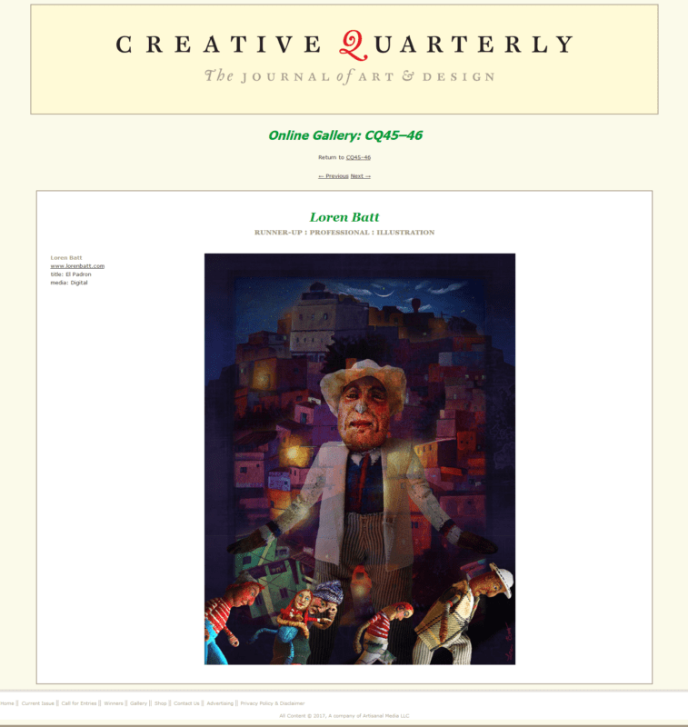 Creative Quarterly The Journal of Art and Design - batt-loren