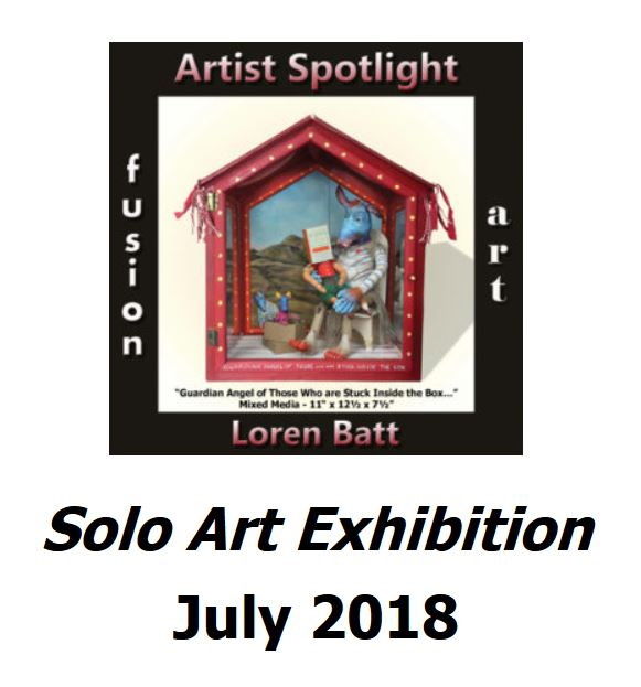 Fusion Art solo art exhibition July 2018