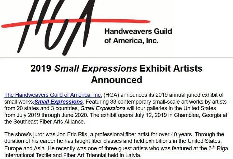 HGA Small Expressions 2019