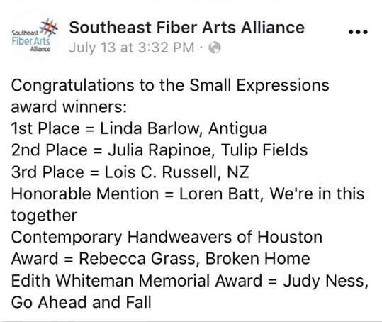 Small expressions awards